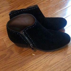 Lucky brand black boots size 7